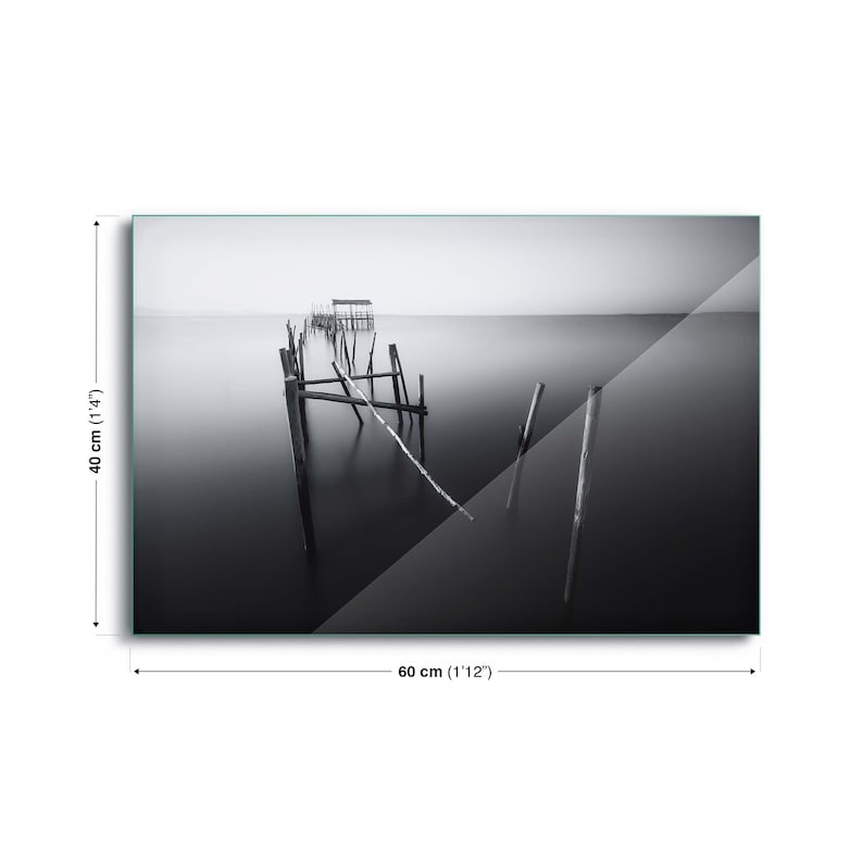 Carrasqueira in Black and White by Iv\u00e1n Ferrero Glass Print Print Abstract Photo Inspirational A2  A3  A4  A5  A6 Picture Poster Wall De