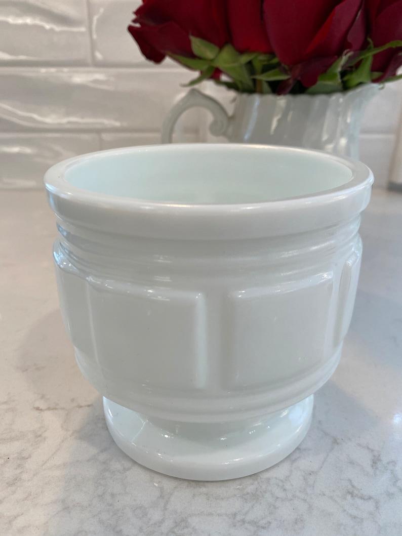 Milk glass no markings