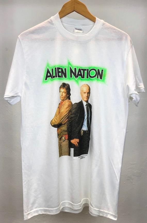 vintage alien in nation movie action movie 90s mov