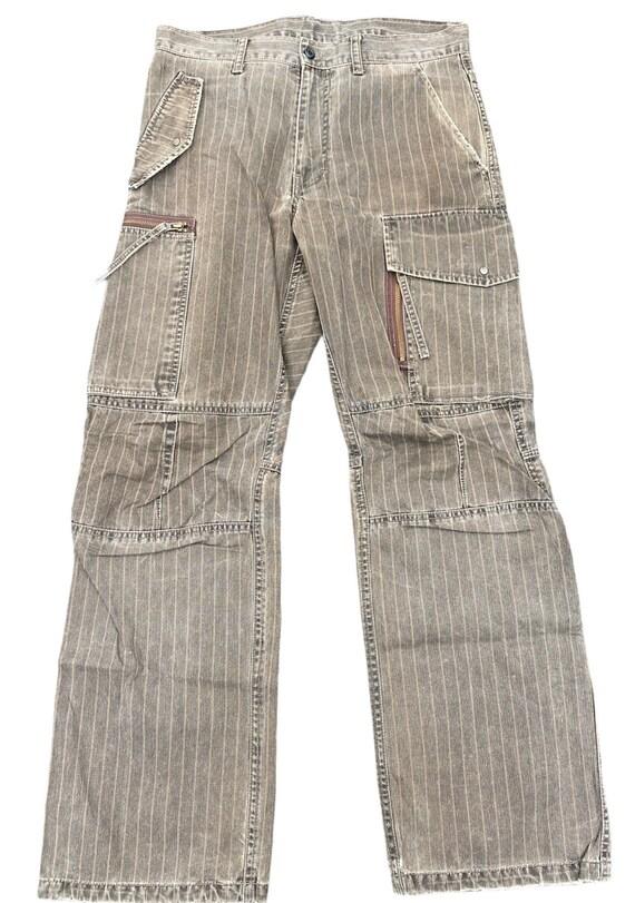 PPFM japanese brand jeans cargo tactical pants