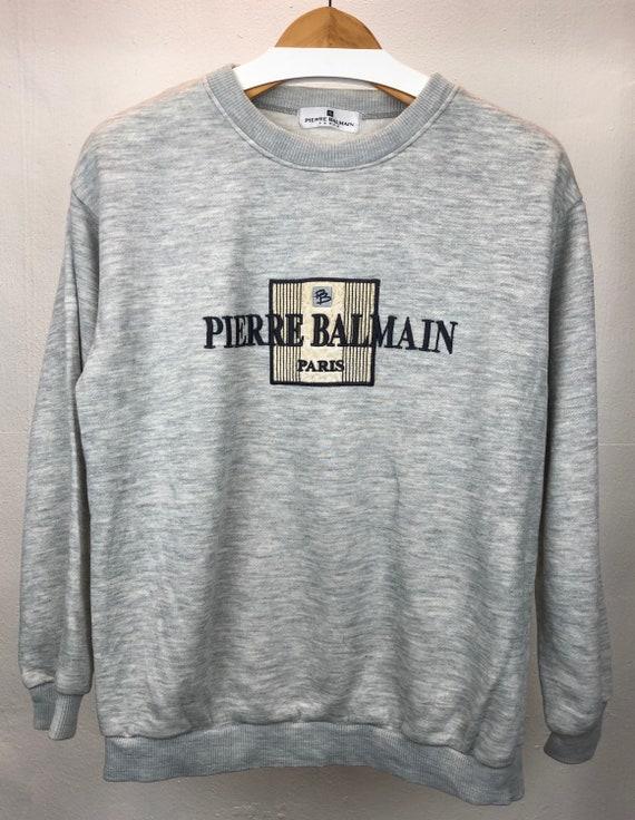 vintage rare balmain pierre balmain sweatshirt
