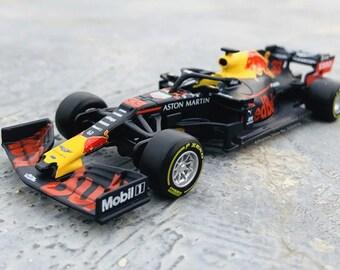 Red Bull Racing RB15 2019 F1 car model Max Verstappen Daniel Ricciardo 1:43 scale, Formula 1 Racing, Replica, Albon