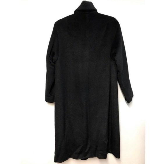 Vintage Lilli Ann Wool Coat Black - image 2