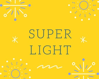 Super Light - this is story to raise curiosity about the person of Jesus Christ at Christmas and Halloween