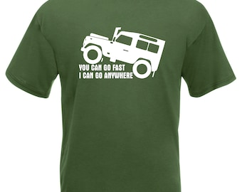 women Jeep Funny Car Truck Auto Off Road 4x4 Mechanic FITTED T-SHIRT