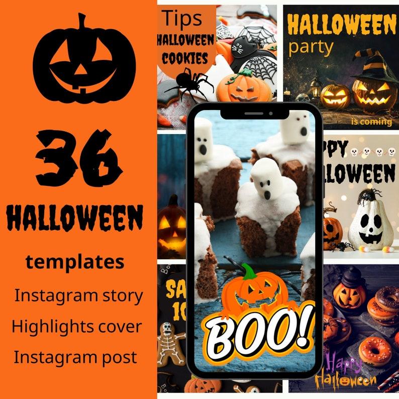 Editable social media templates HALLOWEENcanva inatsgram image 1