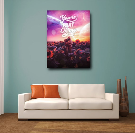 Wall Art Canvas Prints Home Decor Quote SALE / Office Decor / Inspirational Art / Custom / Personalized Gift, Framed Ready-To-Hang