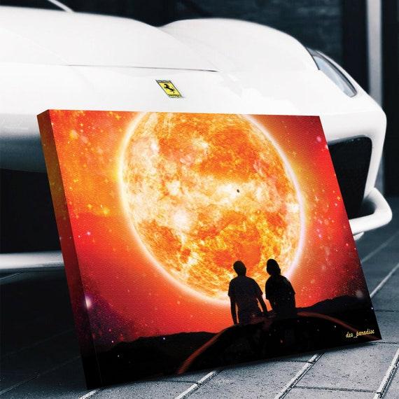 Gift For Her, Him, Personalized EPIC Art- Sun Watcher, Best Seller, Custom, Inspirational Home Art, Office, Wall Decor Framed Prints, Canvas