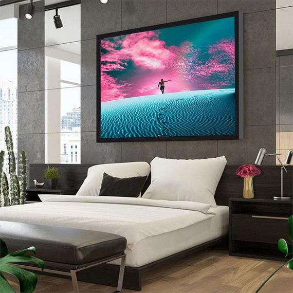 Desert Color Canvas Set - Wall Art- Poster - Home Decor - Artwork - Print - Gallery Wrap - Framed - Custom Prints, Framed Ready-To-Hang