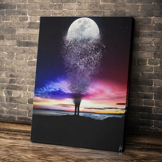 UNIVERSAL / Canvas Wall Art Prints / Home And Office Decor / Custom Framed Printable Wall Art • Modern Celebration, Framed Ready-To-Hang