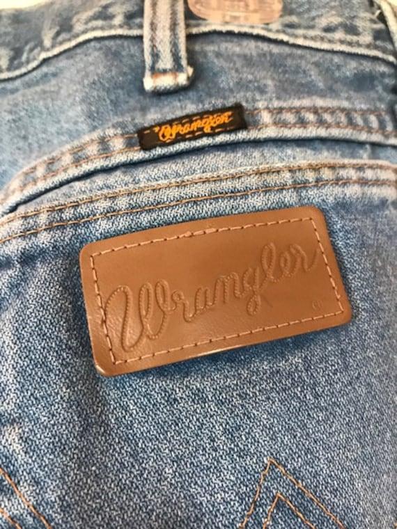 Distressed Vintage Wrangler Jeans