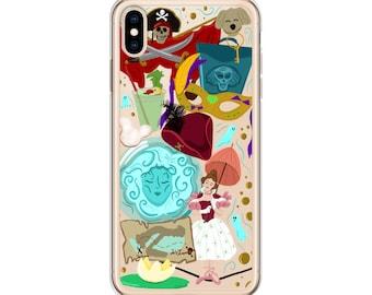 New Orleans Square (Disneyland Doodles) - iPhone Case