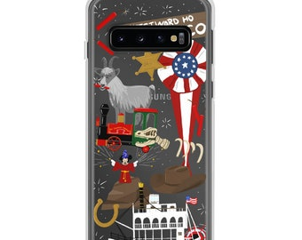 Frontierland (Disneyland Doodles) - Samsung Case