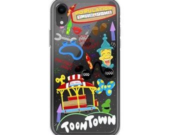 Toontown (Disneyland Doodles) - iPhone Case