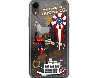 Frontierland (Disneyland Doodles) - iPhone Case