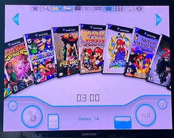 Modded Wii 32gb SD Card (Homebrew) - Over 6,000 Games!