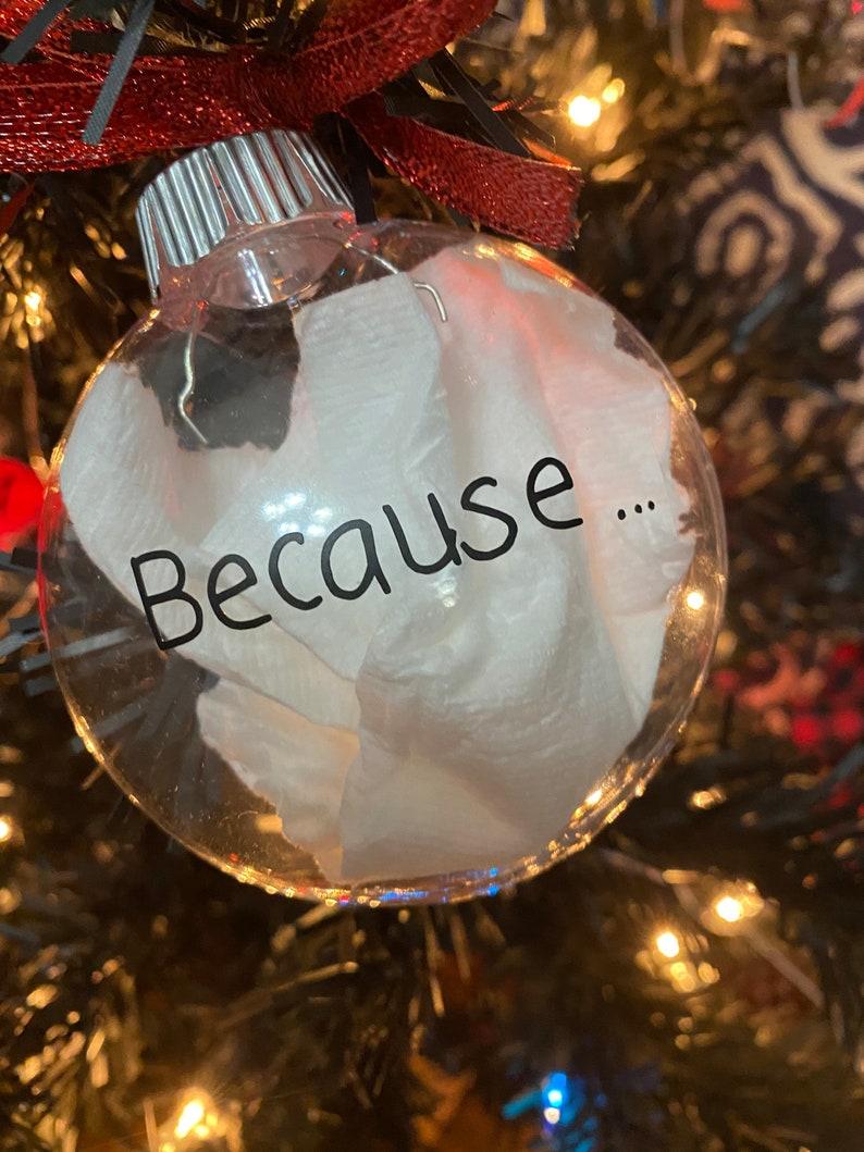 Christmas 2020 Christmas ornament 2020 ornament ornament because...2020 plastic toilet paper