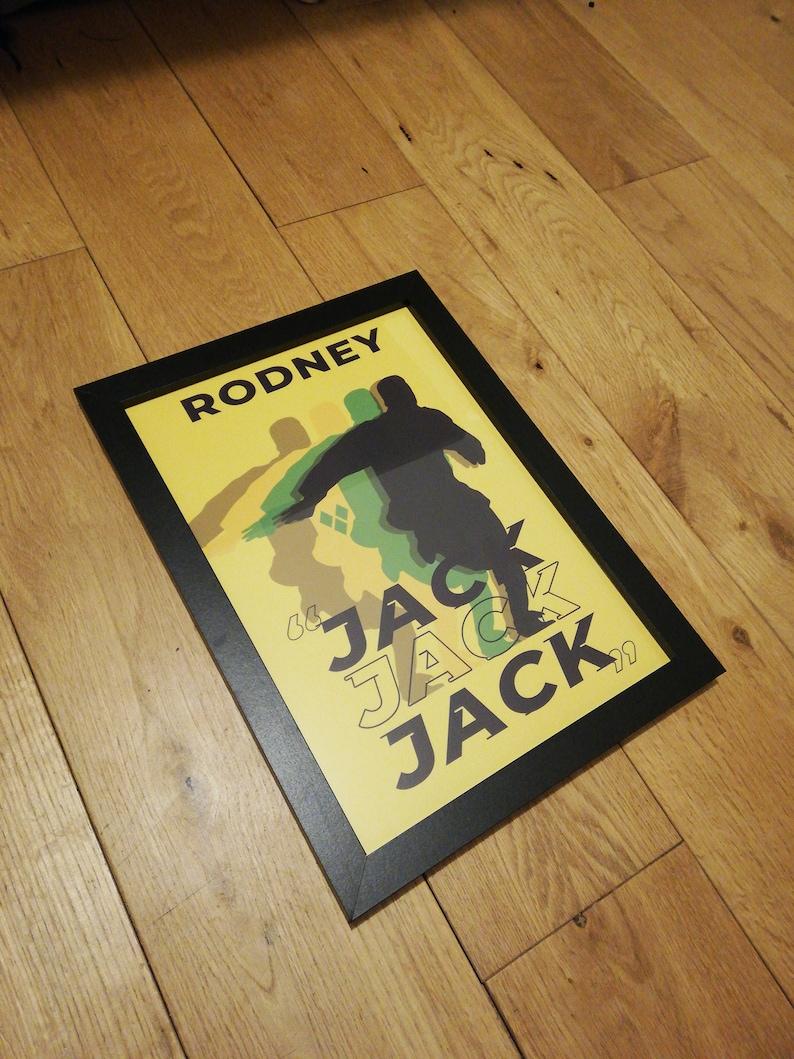 JACK JACK JACK by TorquayTalk Torquay United Football Print image 0