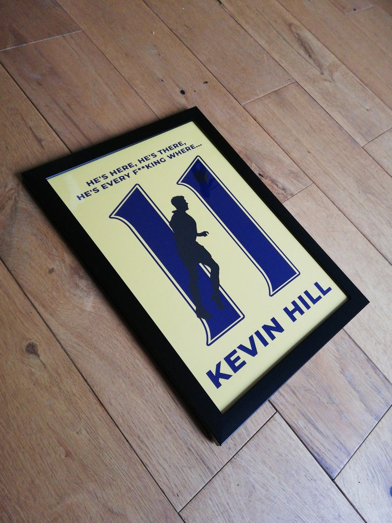 Hill 11 by TORQUAYTALK Torquay United Football Print image 0