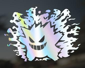 Gengar Nightmare Pokémon Vinyl Decal