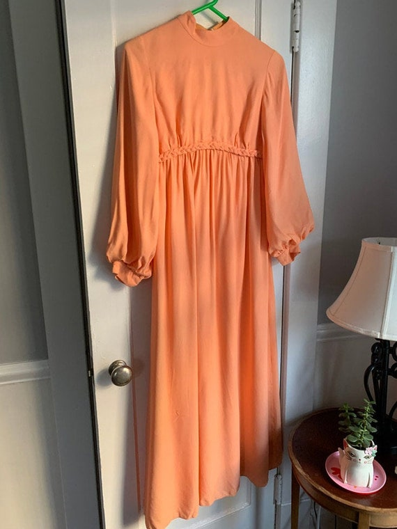 Emma Domb California Peach Princess Dress