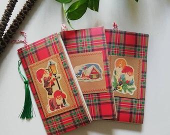 Christmas Junk Journals, Traveller's Notebook Inserts, One Signature Each