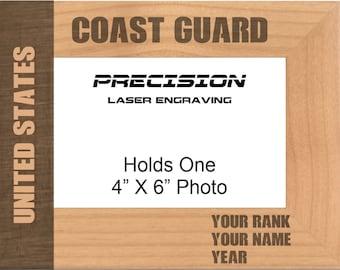 Coast Guard Frame Etsy