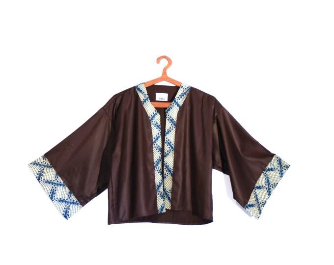 Kimono short TU (wax and viscose)