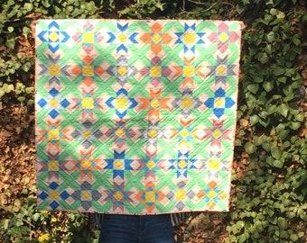 Quilt Patchwork Decke Babydecke
