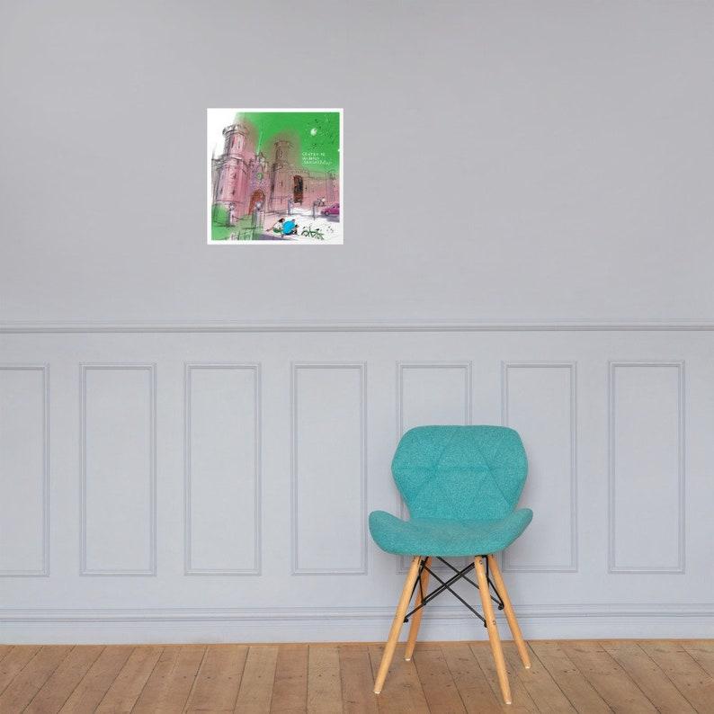 P\u00f3ster Printful  M\u00e9xico  San Luis Potos\u00ed   Art \u0421enter  digital painting