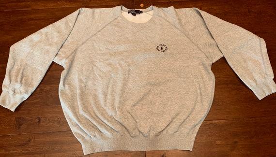 Sweatshirt / Vintage / Ralph Lauren POLO/ Rare lo… - image 1