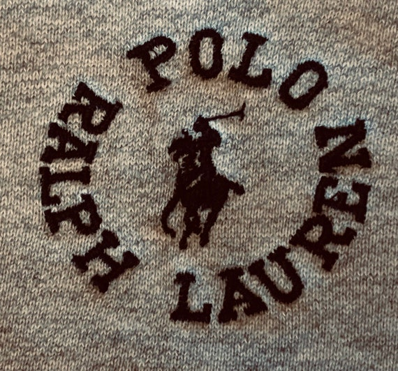 Sweatshirt / Vintage / Ralph Lauren POLO/ Rare lo… - image 6