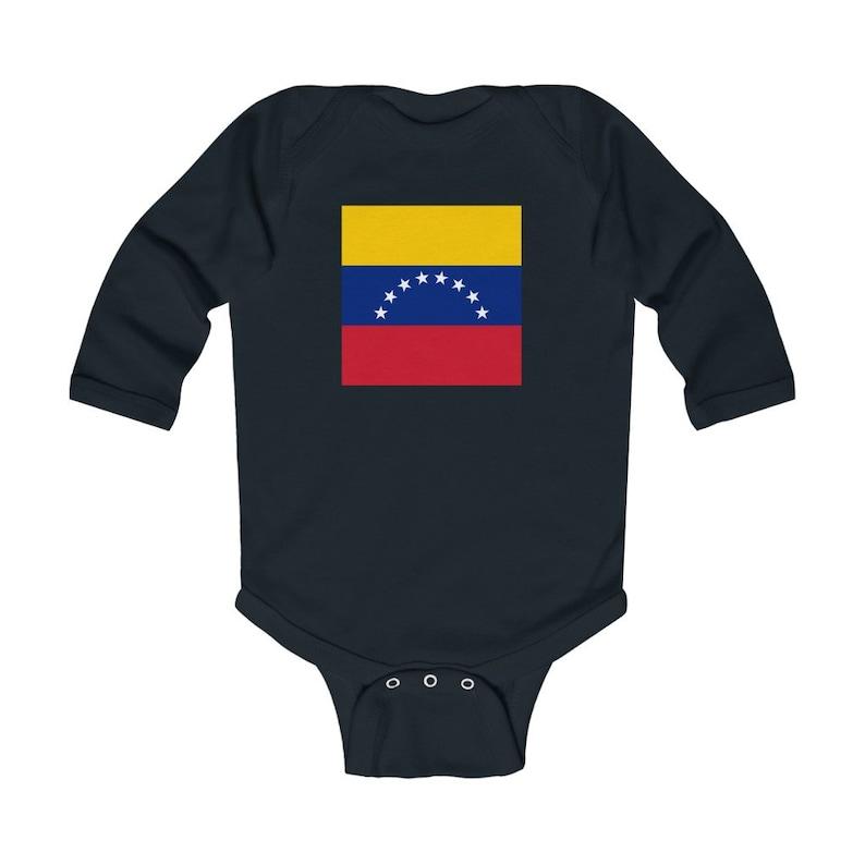 Unisex Baby Gift Baby Onesie Baby Shower Gift Unisex Baby Clothes Venezuela Baby Onesie Venezuelan Baby Baby Bodysuit