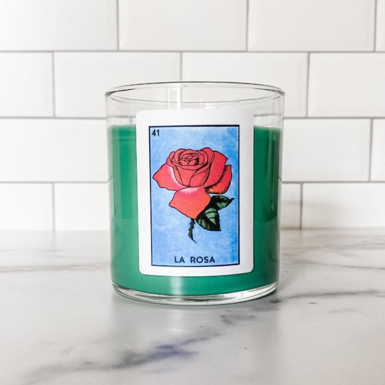La Rosa  All Natural Scented Candle image 0