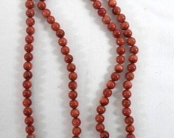 Vintage Goldstone and Pearl Beaded NecklaceVintage Goldstone NecklaceRetro Goldstone NecklaceGoldstone Beaded NecklaceGoldstone Beads