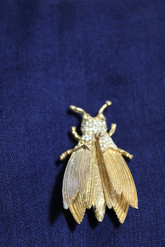 Hattie Carnegie Whimsical Insect