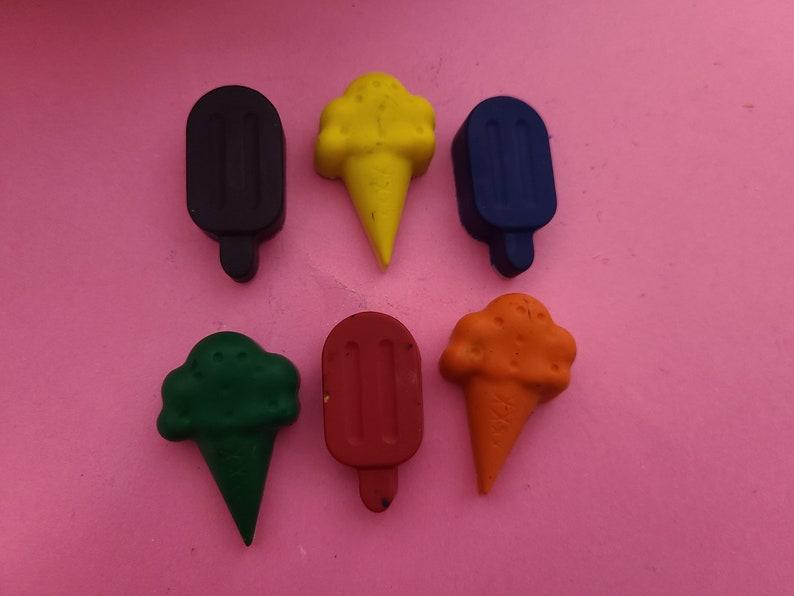 Ice Cream Rainbow Crayon Set