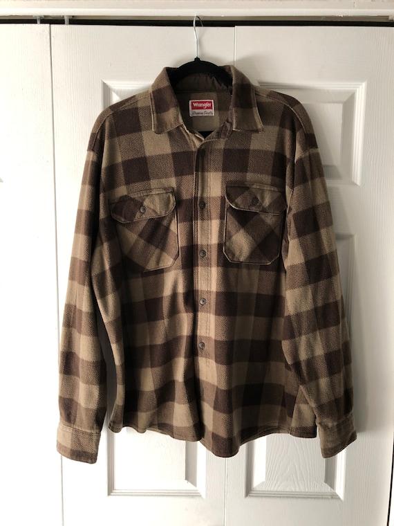 Vintage Wrangler Flannel Coat