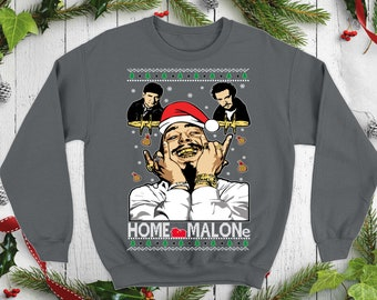 3 XLarge made in USA Brand New bien-aimé shirts Home Malone Crew Sweat-shirt Small