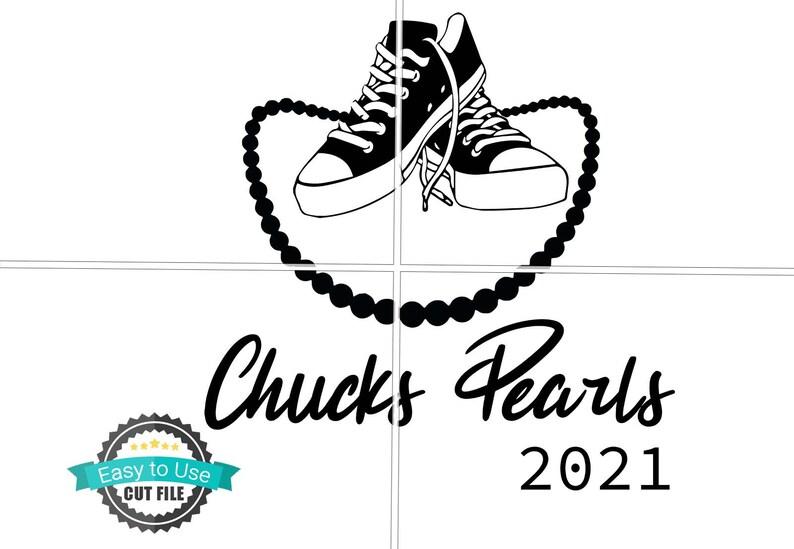 Chucks and Pearls svg  Chucks svg