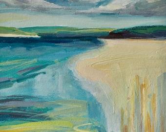 Camel Estuary, Cornwall, Seascape painting