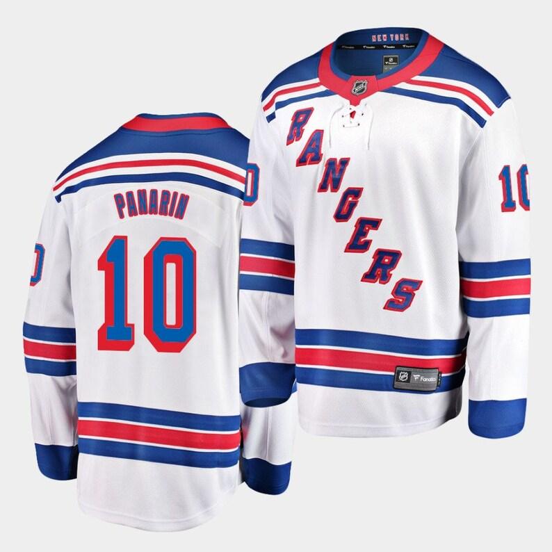 New York Rangers Artemi Panarin 10 Jersey