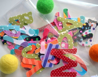 Letter Envelope Seals Fabric Letter Stickers Alphabet Stickers 14 Letter Stickers Packing Stickers Packing Tape
