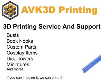3D Printing Service and Support