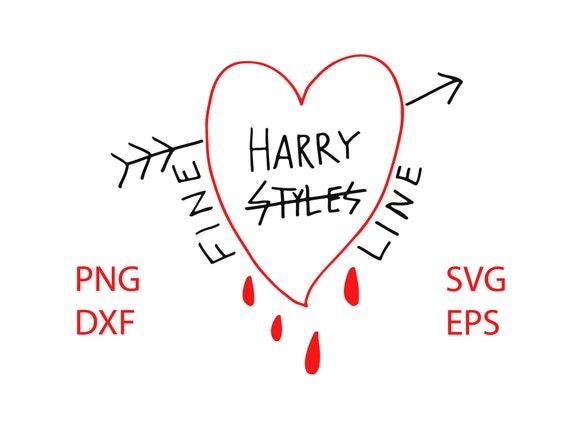 silhouette shirt Clipart Files pdf svg cricut png Fine Line Harry Styles dxf
