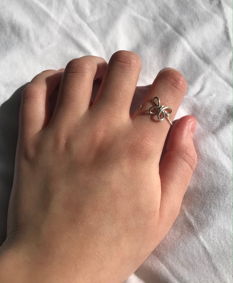 butterfly ring!