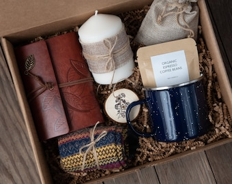 Extra Cozy Hygge box | Hug in box, Gift Set for Him, Birthday Box for Her | Mom, Dad, Brother, Husband Gift, Long Distance Friend Gift