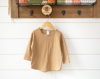 Dolman Shirt for Babies, Toddlers and Kids | Made to Order | Cotton Spandex and Bamboo Spandex