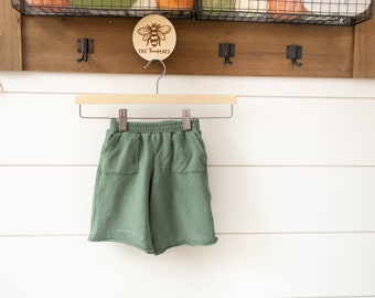 Wide Legged Pants for Babies, Toddlers and Kids | Made to Order | Cotton Spandex, French Terry, Elastic Waistband