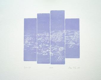 Aava - Intaglio print